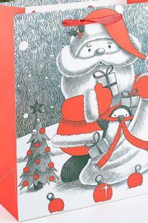 """Ламинированный пакет """"Дедушка Мороз"""""""