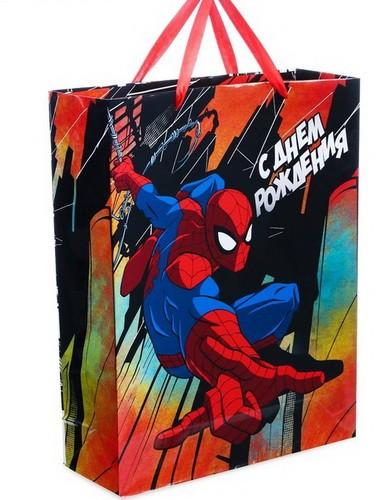 """Ламинированный пакет """"Человек-паук"""""""