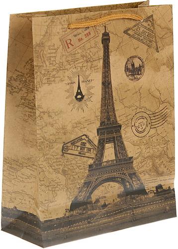 """Пакет крафт """"Париж"""""""