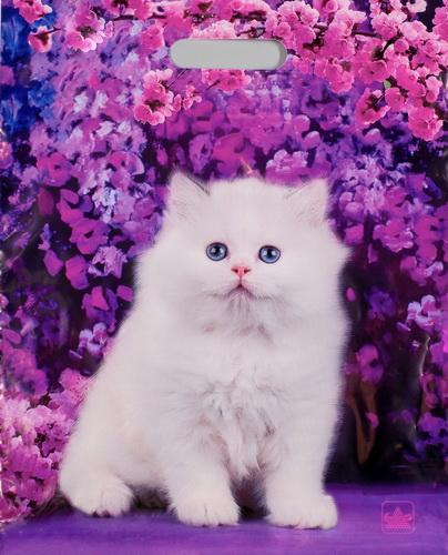 """Пакет полиэтиленовый """"Белый котик"""""""