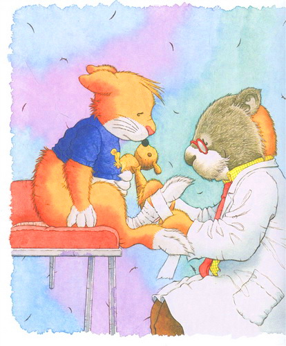Мышонок Тим боится идти к врачу